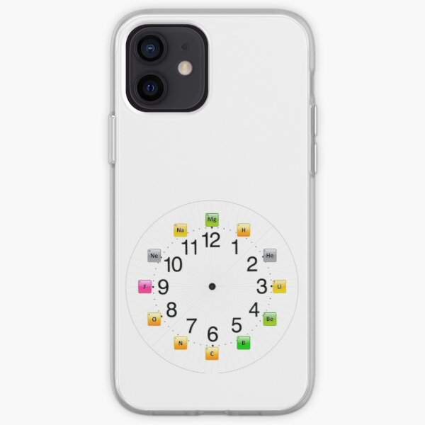 Chemical Elements Wall Clock iPhone Soft Case