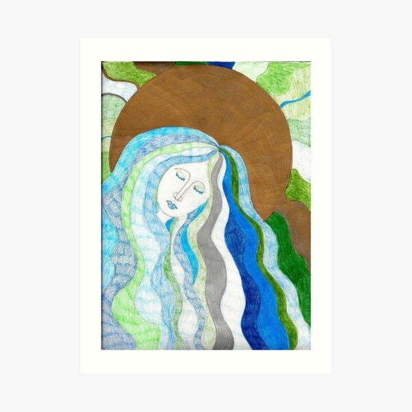 Life Giving Waters Art Print