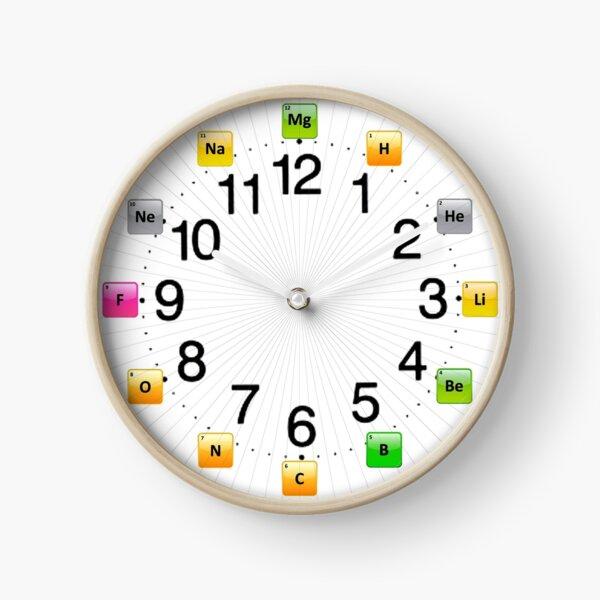 #Chemical #Elements Wall #Clock Clock