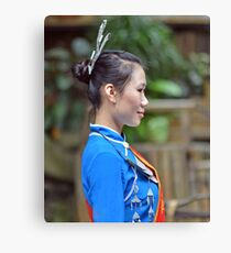 Traditional Chinese fashion Canvas Print