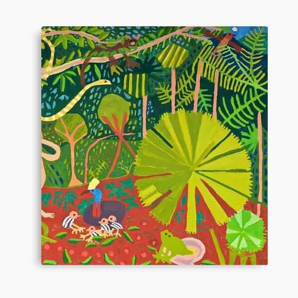 Daintree Rainforest Zionart Zion Levy Stewart Canvas Print