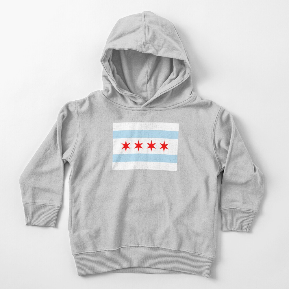 Flag of Chicago Toddler Pullover Hoodie