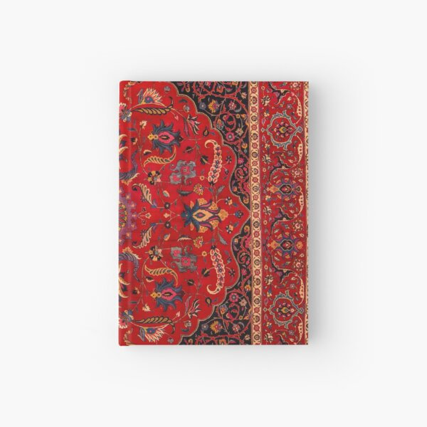 Antique Persian Rug Hardcover Journal