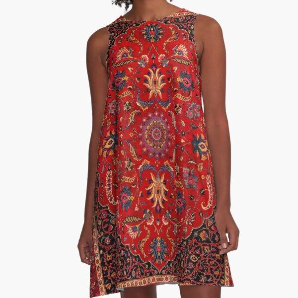 Antique Persian Rug A-Line Dress