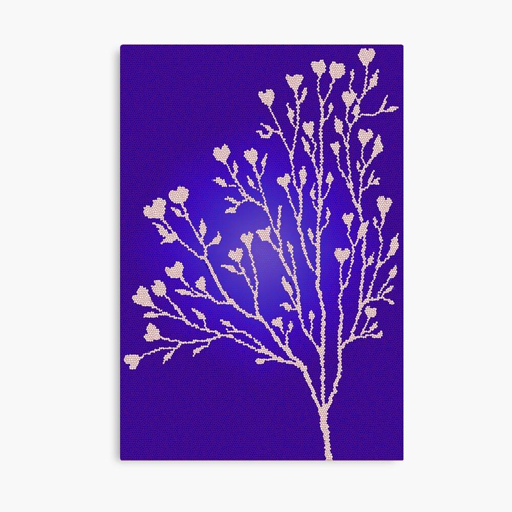 Mosaic Tree Canvas Print