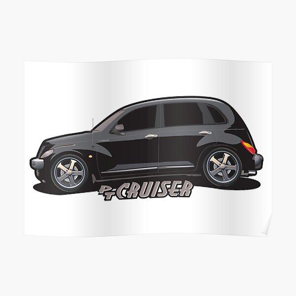 PT Cruiser - Black Poster