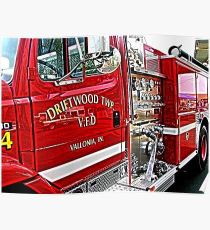 firetruck Poster