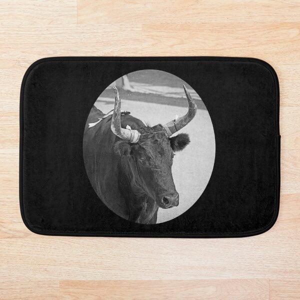 Camarguais bull south France Bath Mat