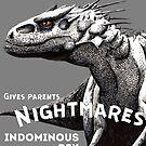 Indominus Rex Retro by Kelley Frank