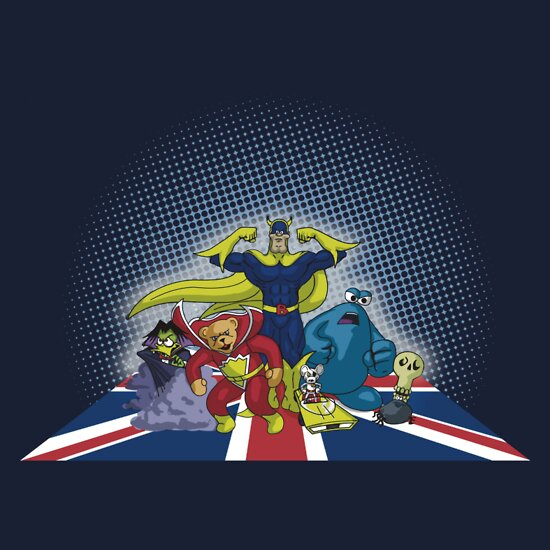 TShirtGifter presents: The League of Extraordinary British Cartoons