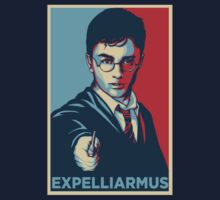Expelliarmus Harry Potter Daniel Radcliffe Shirt - In Obama Hope Style