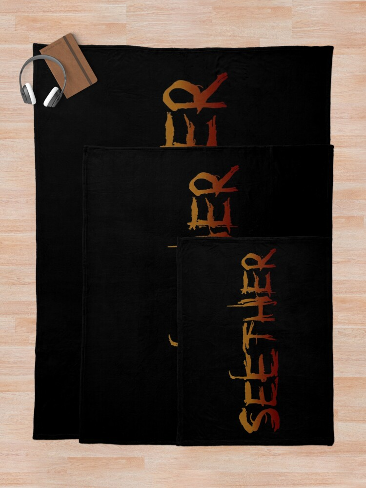 Alternate view of Seether  Throw Blanket