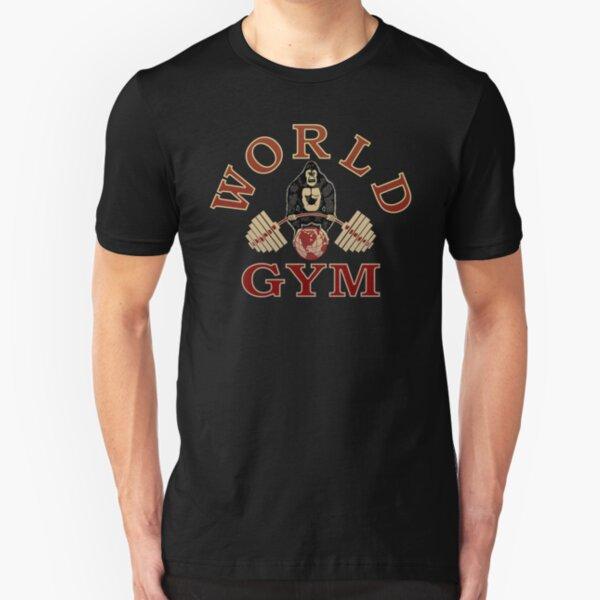 World Gym Gorilla  Slim Fit T-Shirt