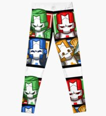 Castle Crashers Four-Square Leggings