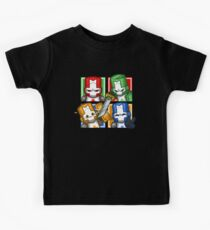 Castle Crashers Four-Square Kids Clothes