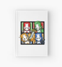 Castle Crashers Four-Square Hardcover Journal