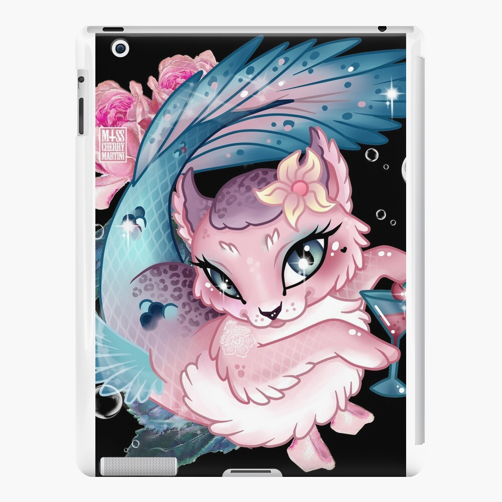 Pretty Little Purrmaid iPad Cases & Skins