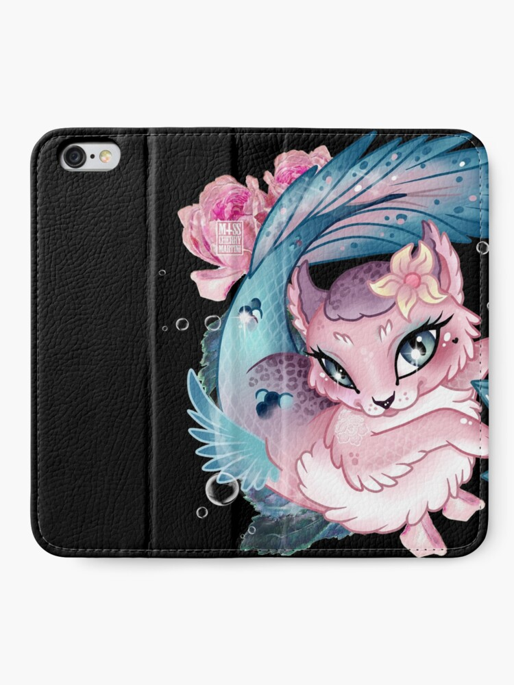 Alternate view of Pretty Little Purrmaid iPhone Wallet
