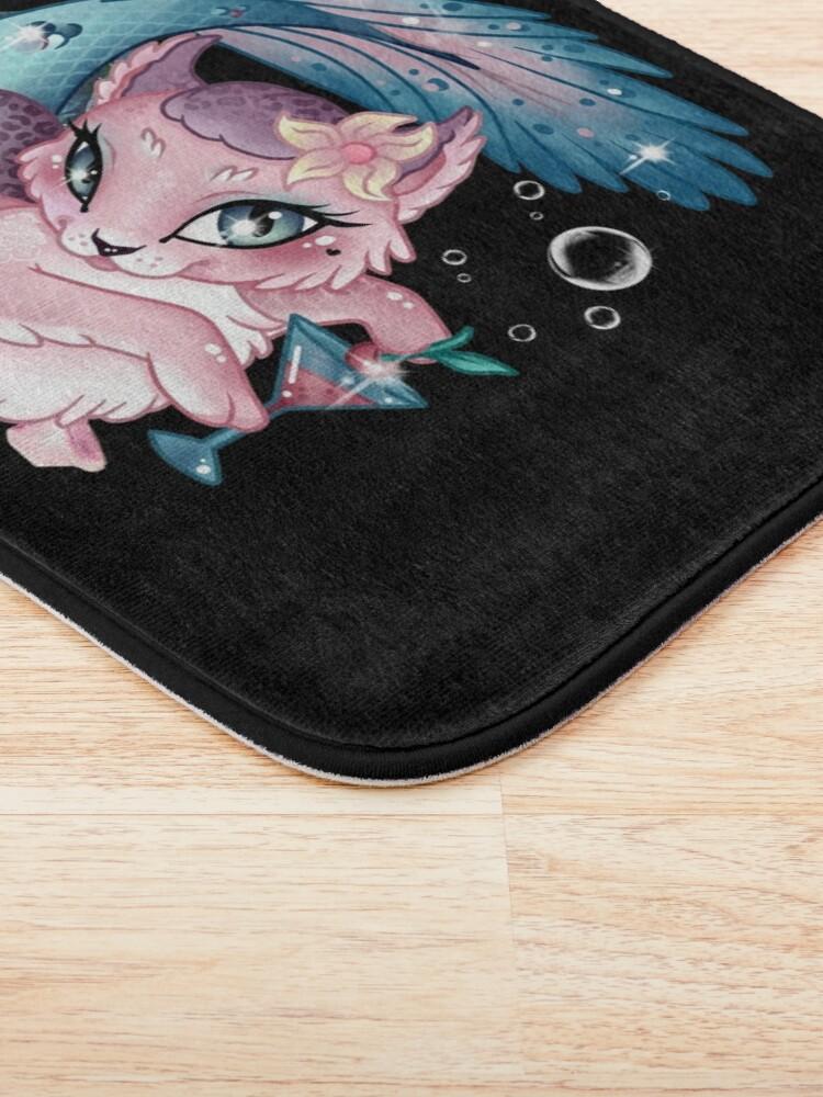 Alternate view of Pretty Little Purrmaid Bath Mat