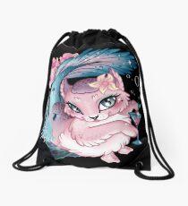 Pretty Little Purrmaid Drawstring Bag