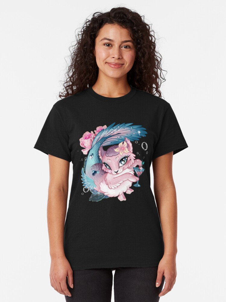 Alternate view of Pretty Little Purrmaid Classic T-Shirt