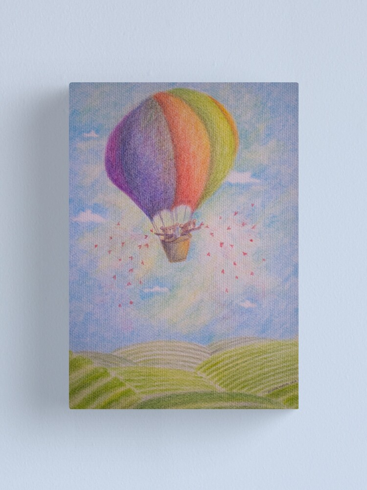 Alternate view of Balloon's Bears Canvas Print
