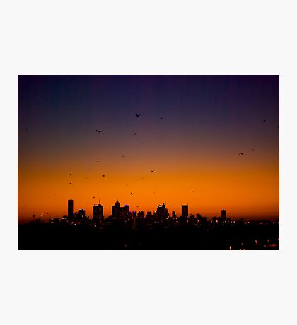 Melbourne Twilight Photographic Print