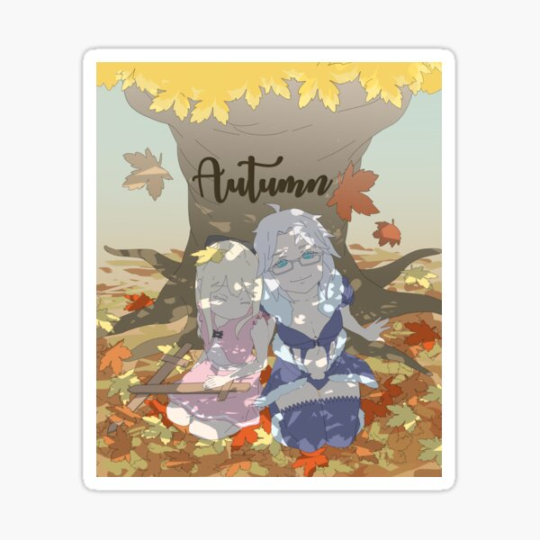 MeatPossible - Princess Errina & Knight Captain Lunaya Sticker