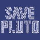 Save PLUTO Grunge by justinglen75