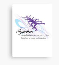 Synchro Metal Print