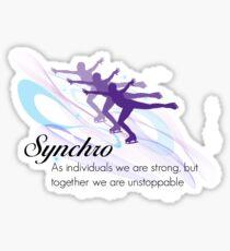 Synchro Sticker