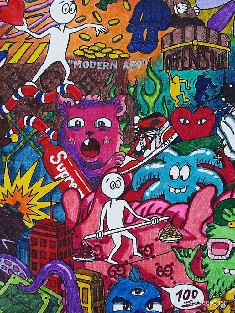 Sad anime : Supreme Cartoon Rap Hypebeast Animated ...
