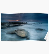 Whale Tail Rock Poster