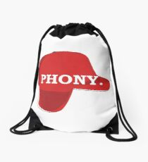 Catcher in the Rye Shirt – Holden Caufield, Phony Drawstring Bag