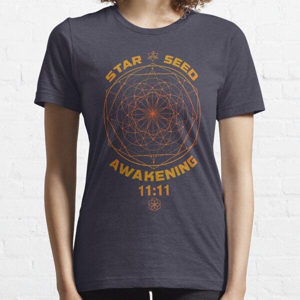 Star Seed Awakening Sacred Geometry 11:11 Essential T-Shirt