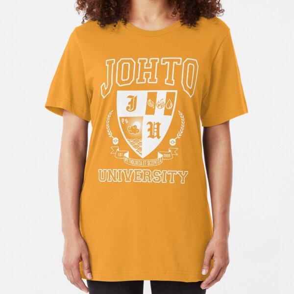 Johto University Slim Fit T-Shirt