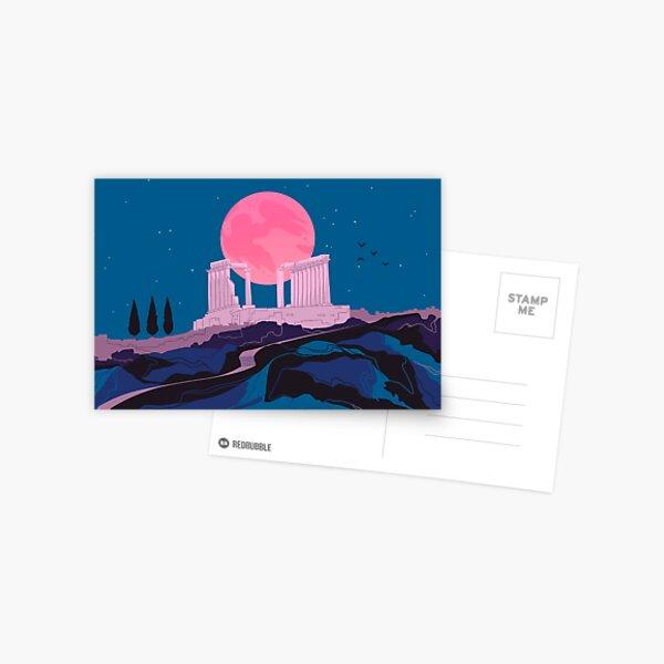Temple of Poseidon at Sounion Postcard