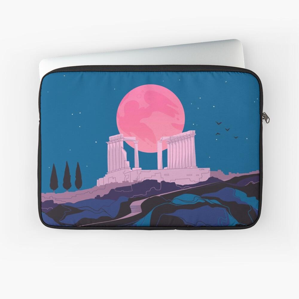 Temple of Poseidon at Sounion Laptop Sleeve