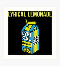 lemonade Art Print