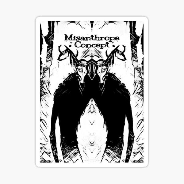 Misanthrope Concept- Tribe Sticker