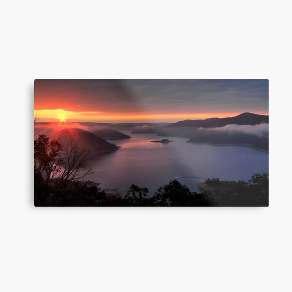 Lake Eildon. Metal Print