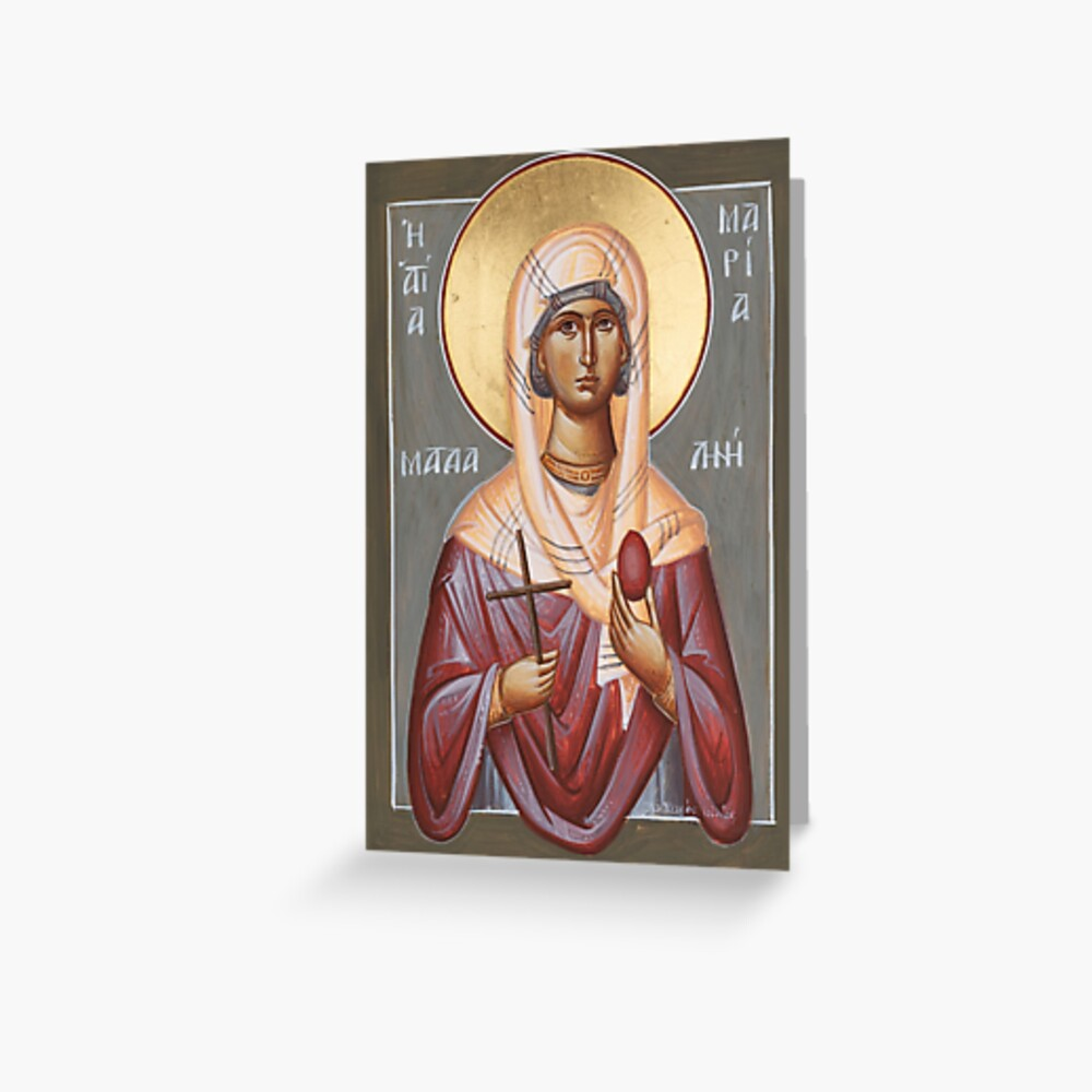 St Mary Magdalene Greeting Card