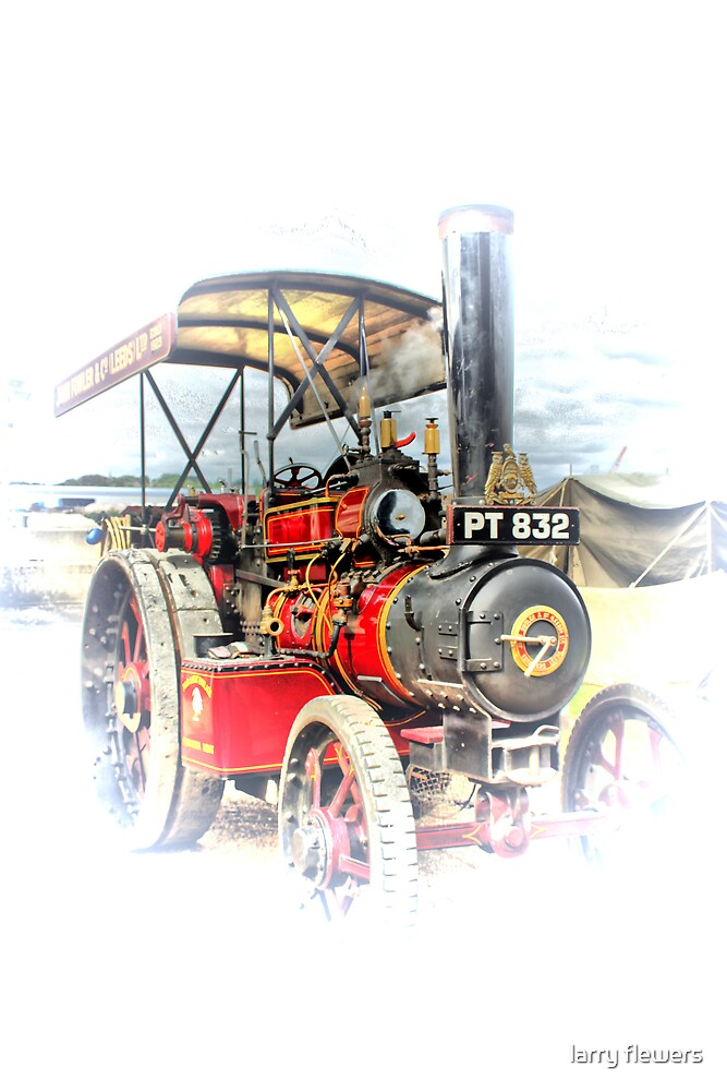Steam power by larry flewers