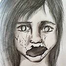 Broken scream by Tricia Johansson Furtado