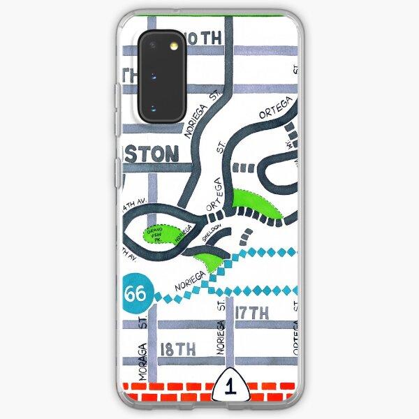 San Francisco map - Golden Gate Heights Samsung Galaxy Soft Case