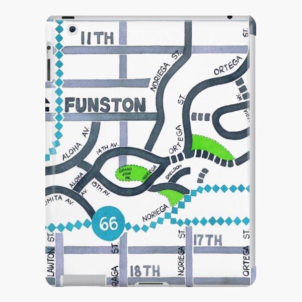 San Francisco map - Golden Gate Heights iPad Snap Case