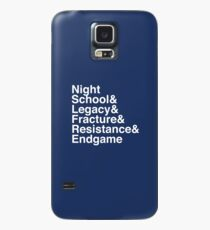 Night School Book Series Case/Skin for Samsung Galaxy