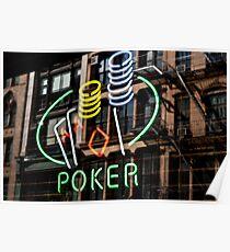 Poker Facade Poster
