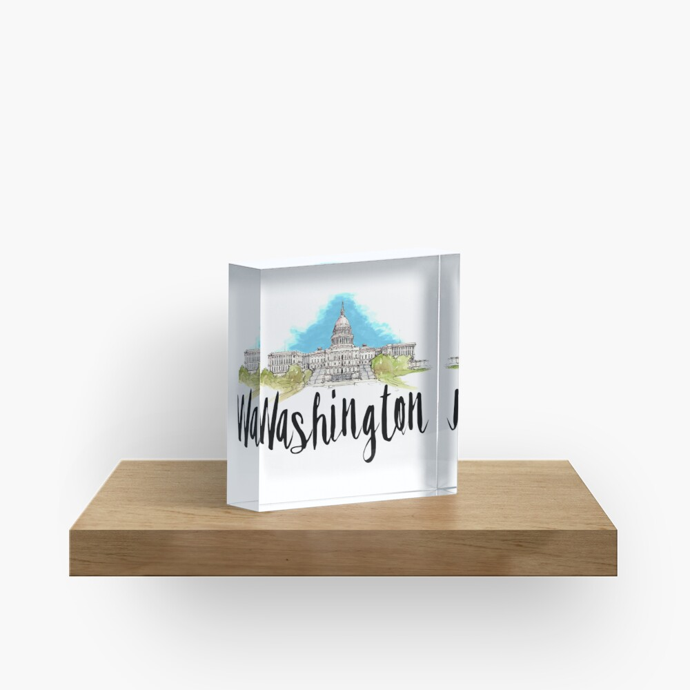 Washington Acrylic Block