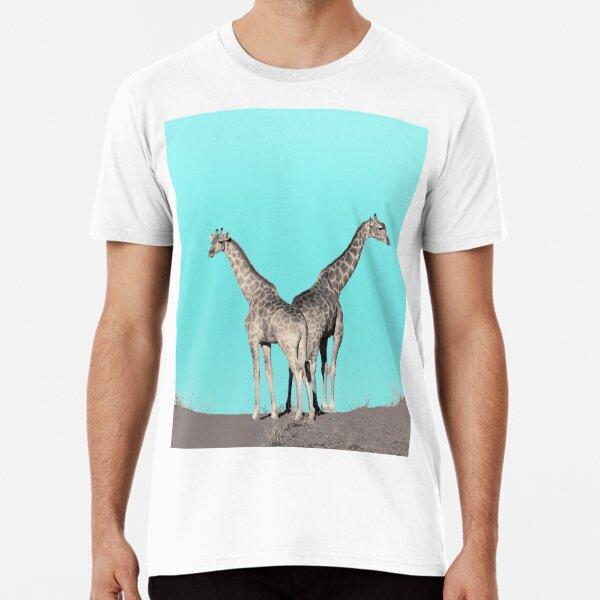Extravagante Giraffen Premium T-Shirt